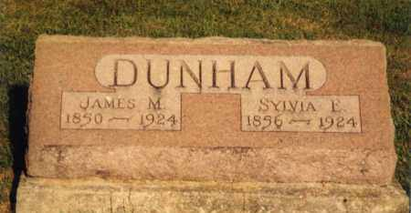 "DUNHAM, SYLVIA ESTHER ""AMELIA"" POTTS - Champaign County, Ohio 