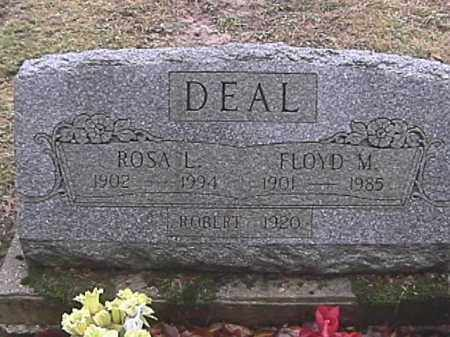 DEAL, FLOYD M. - Champaign County, Ohio | FLOYD M. DEAL - Ohio Gravestone Photos