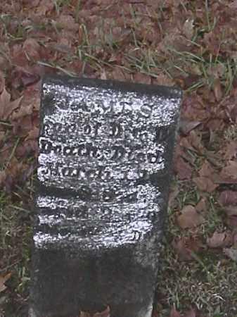 DEATH, JAMES - Champaign County, Ohio   JAMES DEATH - Ohio Gravestone Photos