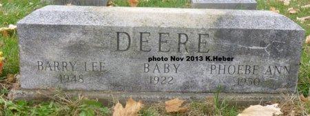 DEERE, PHOEBE ANN - Champaign County, Ohio | PHOEBE ANN DEERE - Ohio Gravestone Photos