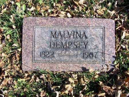 DEMPSEY, MALVINA - Champaign County, Ohio | MALVINA DEMPSEY - Ohio Gravestone Photos