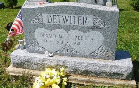 AIZZA DETWILER, ADELE A - Champaign County, Ohio | ADELE A AIZZA DETWILER - Ohio Gravestone Photos