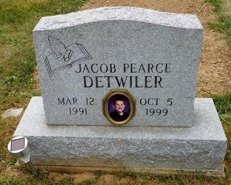 DETWILER, JACOB PEARCE - Champaign County, Ohio | JACOB PEARCE DETWILER - Ohio Gravestone Photos