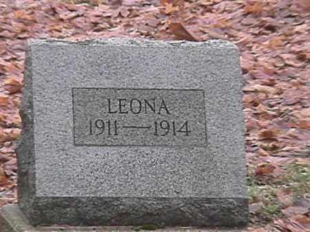 DILBONE, LEONA - Champaign County, Ohio | LEONA DILBONE - Ohio Gravestone Photos
