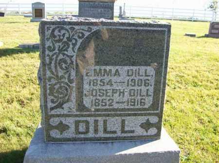 DILL, EMMA - Champaign County, Ohio | EMMA DILL - Ohio Gravestone Photos