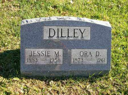 DILLEY, ORA D. - Champaign County, Ohio | ORA D. DILLEY - Ohio Gravestone Photos