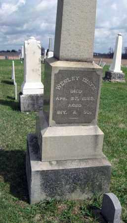 DILTZ, WESLEY - Champaign County, Ohio | WESLEY DILTZ - Ohio Gravestone Photos