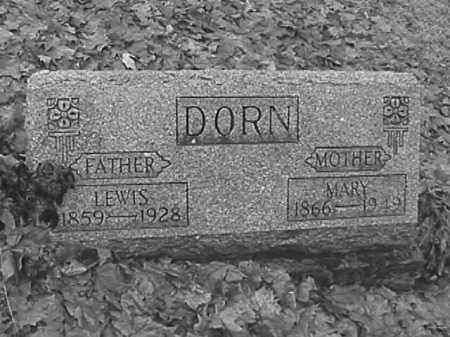 DORN, MARY ALICE HUNTER - Champaign County, Ohio | MARY ALICE HUNTER DORN - Ohio Gravestone Photos