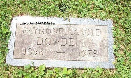 DOWDELL, RAYMOND HAROLD - Champaign County, Ohio | RAYMOND HAROLD DOWDELL - Ohio Gravestone Photos