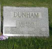 WILSON DUNHAM, RUTH DOLLY - Champaign County, Ohio | RUTH DOLLY WILSON DUNHAM - Ohio Gravestone Photos