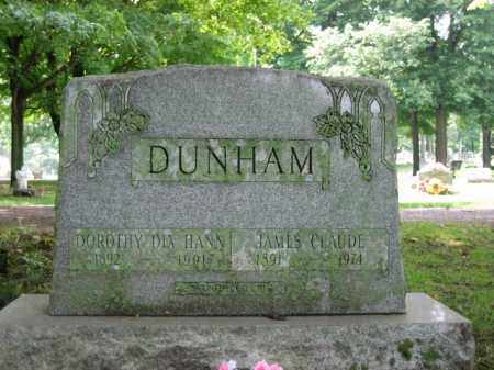 DUNHAM, JAMES CLAUDE - Champaign County, Ohio | JAMES CLAUDE DUNHAM - Ohio Gravestone Photos