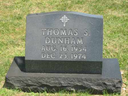 DUNHAM, THOMAS S. - Champaign County, Ohio | THOMAS S. DUNHAM - Ohio Gravestone Photos