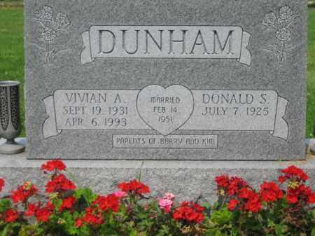 DUNHAM, VIVIAN ANN - Champaign County, Ohio | VIVIAN ANN DUNHAM - Ohio Gravestone Photos