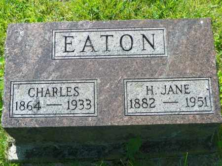 EATON, H. JANE - Champaign County, Ohio | H. JANE EATON - Ohio Gravestone Photos