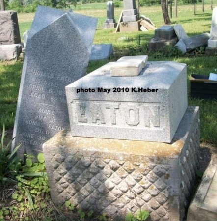 EATON, MONUMENT - Champaign County, Ohio | MONUMENT EATON - Ohio Gravestone Photos