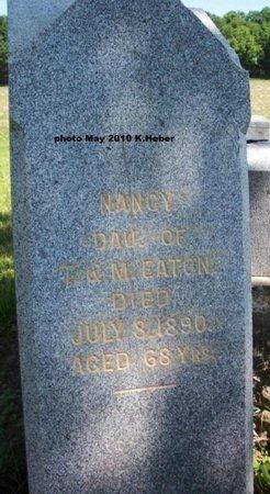 EATON, NANCY - Champaign County, Ohio   NANCY EATON - Ohio Gravestone Photos