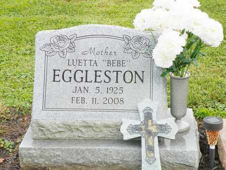 EGGLESTON, LUETTA - Champaign County, Ohio | LUETTA EGGLESTON - Ohio Gravestone Photos