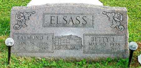 ELSASS, BETTY L. - Champaign County, Ohio | BETTY L. ELSASS - Ohio Gravestone Photos