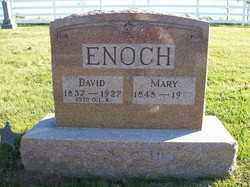 ENOCH, MARY - Champaign County, Ohio | MARY ENOCH - Ohio Gravestone Photos