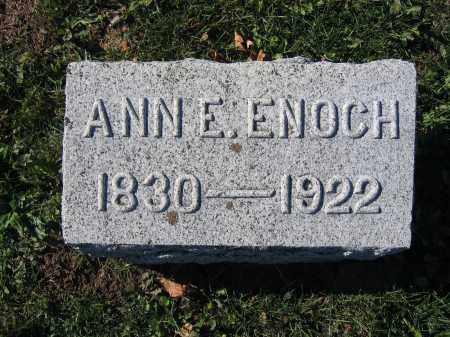 ENOCH, ANN E. - Champaign County, Ohio | ANN E. ENOCH - Ohio Gravestone Photos