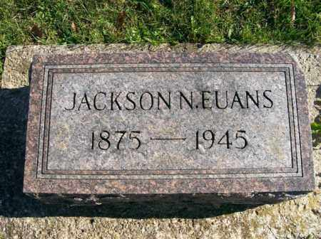 EUANS, JACKSON N. - Champaign County, Ohio | JACKSON N. EUANS - Ohio Gravestone Photos