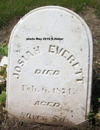 EVERETT, JOSIAH - Champaign County, Ohio   JOSIAH EVERETT - Ohio Gravestone Photos