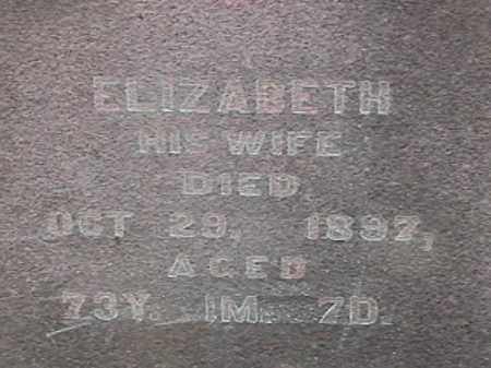 EVERINGHAM, ELIZABETH - Champaign County, Ohio | ELIZABETH EVERINGHAM - Ohio Gravestone Photos