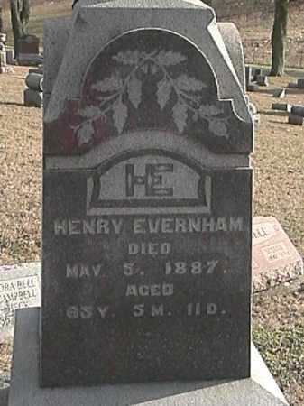 EVERINGHAM, HENRY - Champaign County, Ohio | HENRY EVERINGHAM - Ohio Gravestone Photos