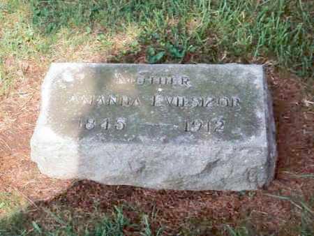 EVILSIZOR, AMANDA COOK - Champaign County, Ohio | AMANDA COOK EVILSIZOR - Ohio Gravestone Photos