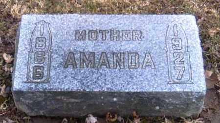 EVILSIZOR, AMANDA - Champaign County, Ohio   AMANDA EVILSIZOR - Ohio Gravestone Photos