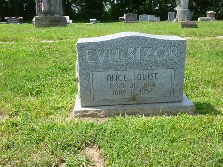 TRUE EVILSIZOR, ALICE LOUISE - Champaign County, Ohio | ALICE LOUISE TRUE EVILSIZOR - Ohio Gravestone Photos