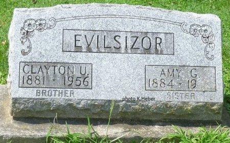EVILSIZOR, CLAYTON ULRICH - Champaign County, Ohio | CLAYTON ULRICH EVILSIZOR - Ohio Gravestone Photos
