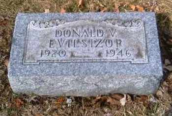EVILSIZOR, DONALD V. - Champaign County, Ohio | DONALD V. EVILSIZOR - Ohio Gravestone Photos