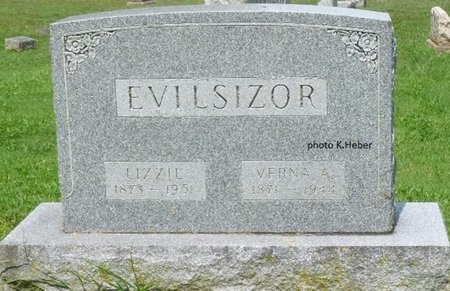 "EVILSIZOR, ELIZABETH ""LIZZIE"" - Champaign County, Ohio | ELIZABETH ""LIZZIE"" EVILSIZOR - Ohio Gravestone Photos"