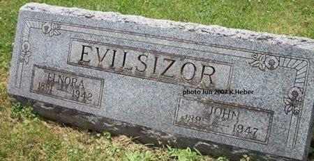 TEET EVILSIZOR, ELNORA ANN - Champaign County, Ohio | ELNORA ANN TEET EVILSIZOR - Ohio Gravestone Photos