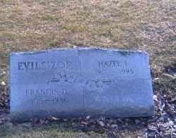 WALLACE EVILSIZOR, HAZEL I. - Champaign County, Ohio | HAZEL I. WALLACE EVILSIZOR - Ohio Gravestone Photos