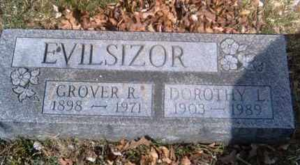 EVILSIZOR, GROVER - Champaign County, Ohio | GROVER EVILSIZOR - Ohio Gravestone Photos