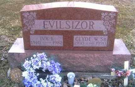 EVILSIZOR, IVY I. - Champaign County, Ohio | IVY I. EVILSIZOR - Ohio Gravestone Photos