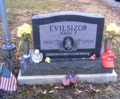 EVILSIZOR, JOHN F. - Champaign County, Ohio | JOHN F. EVILSIZOR - Ohio Gravestone Photos