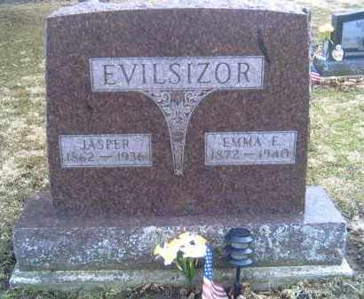 EVILSIZOR, EMMA E. - Champaign County, Ohio | EMMA E. EVILSIZOR - Ohio Gravestone Photos