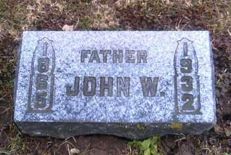 EVILSIZOR, JOHN W. - Champaign County, Ohio | JOHN W. EVILSIZOR - Ohio Gravestone Photos