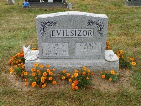 EVILSIZOR, JOSEPH ALBERT - Champaign County, Ohio | JOSEPH ALBERT EVILSIZOR - Ohio Gravestone Photos