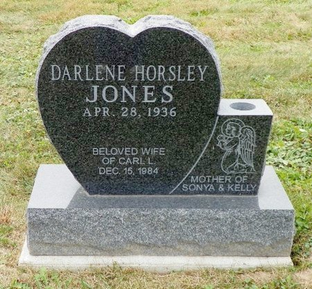 HORSELY EVILSIZOR JONES, DARLENE - Champaign County, Ohio | DARLENE HORSELY EVILSIZOR JONES - Ohio Gravestone Photos