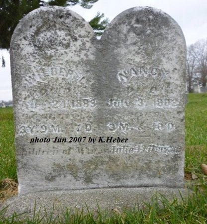 EVILSIZOR, NANCY - Champaign County, Ohio | NANCY EVILSIZOR - Ohio Gravestone Photos