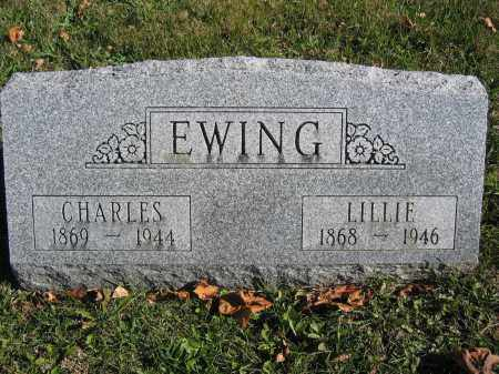 EWING, LILLIE - Champaign County, Ohio | LILLIE EWING - Ohio Gravestone Photos