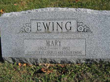 EWING, MARY - Champaign County, Ohio | MARY EWING - Ohio Gravestone Photos