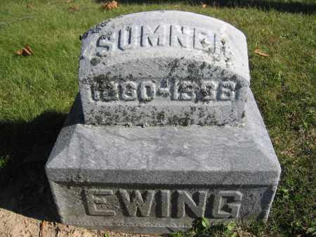 EWING, SUMNER - Champaign County, Ohio | SUMNER EWING - Ohio Gravestone Photos