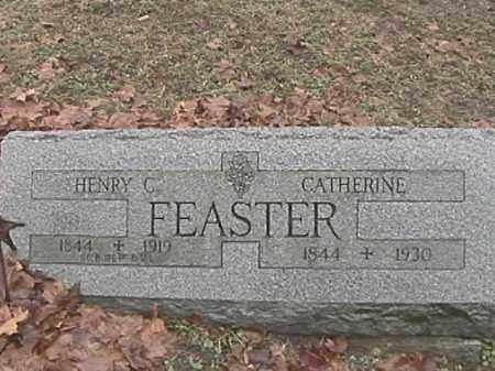 FEASTER, HENRY C. - Champaign County, Ohio | HENRY C. FEASTER - Ohio Gravestone Photos