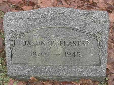 FEASTER, JASON P. - Champaign County, Ohio | JASON P. FEASTER - Ohio Gravestone Photos