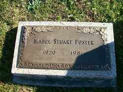 FOSTER, MABEL STUART - Champaign County, Ohio | MABEL STUART FOSTER - Ohio Gravestone Photos